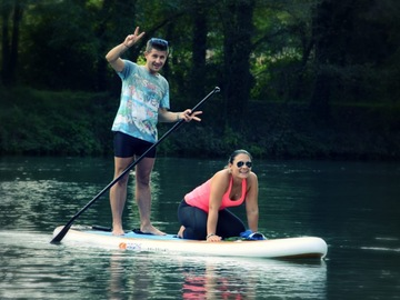 Entdeckung (preis pro person): SUP courses with excursions on the Sile