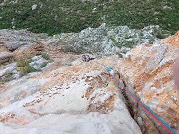 Experience (price per person): Climbing long routes San Vito Lo Capo