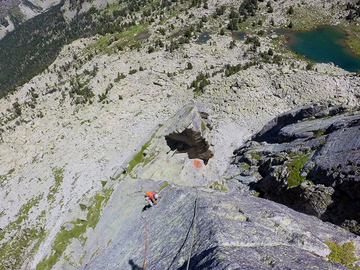 Adventure (price per person): Multipitch rock climbing in Pyrenees