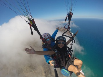 Experience (price per person): Paragliding in Lanzarote