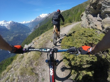 Voyage (price per person): Valais Mtb Enduro week-end