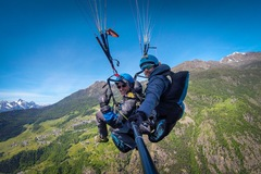 Experience (price per person): volo in parapendio biposto in valle d'aosta