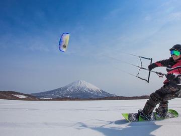 Experience (price per person): basi approccio snowkite