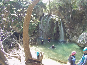Abenteuer (preis pro person): Canyoning at Mylopotamos - ROUTE A' | KYTHERA, GREECE