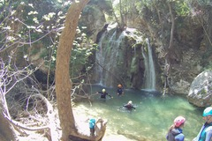 Adventure (price per person): Canyoning at Mylopotamos - ROUTE A' | KYTHERA, GREECE