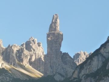 Experience (price per group): Campanile di Val Montanaia