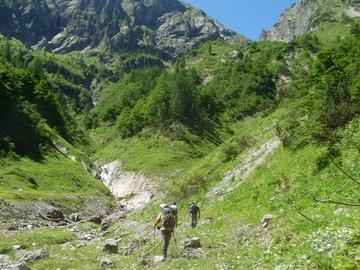 Adventure (price per group): Le sorgenti del Meduna - Escursione in Canal Grande con bivacco