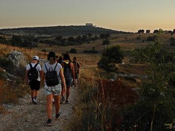 Adventure (price per group): Castel del Monte Trails