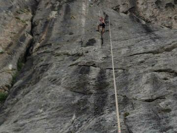 Experience (price per person): Lemonrock walls climbing in Island of Krk