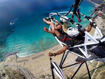 Expérience (prix par personne): Paragliding in Crete