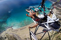 Experience (price per person): Paragliding in Crete