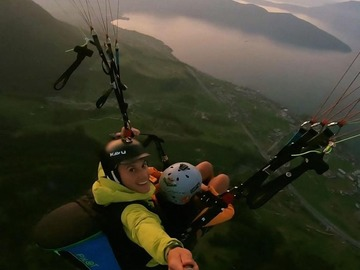 Experience (price per person): Paragliding Tandem