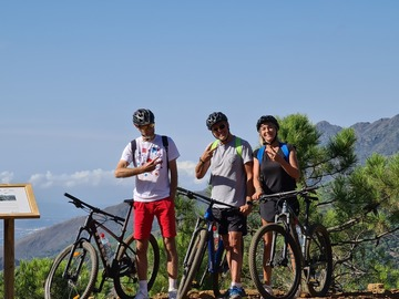 Adventure (price per person): MTB adventure. Sierra Bermeja