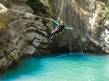 Experience (price per person): Canyoning Lago di Garda