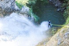 Experience (price per person): Canyoning Lago di Garda Strong
