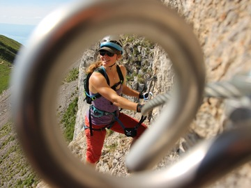 Adventure (price per person): Introduction to Via Ferrata in the Swiss Mountains, 2-day 2-night