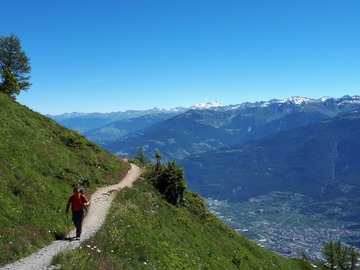 Adventure (price per person): Tour de Muveran, Vues de Mont Blanc 4 days 3 nights