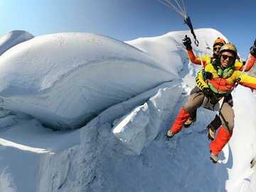 """Aventure (prix par personne): MountainFLY """"30-60 mins AirTime"""""""