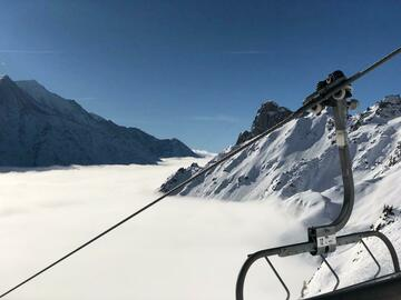 Entdeckung (preis pro person): Ski lesson Monte Rosa Ski: Gressoney-Champoluc-Alagna (full day)