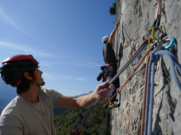 Adventure (price per person): MULTIPITCH CLIMBING NEAR ARCO, SARCA VALLEY, GARDA LAKE - 2 days