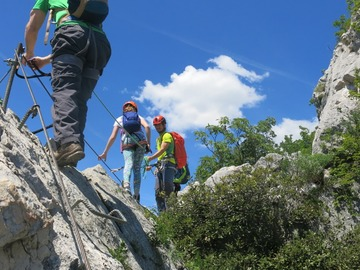Adventure (price per person): VIA FERRATA NEAR ARCO, SARCA VALLEY, GARDA LAKE - 2 days