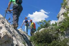 Adventure (price per person): VIA FERRATA NEAR ARCO, SARCA VALLEY, GARDA LAKE - 2 days
