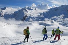 Adventure (price per person): SKI TOURING ON ADAMELLO GLACIER, LOBBIA HUT AND PISGANA - 2 days