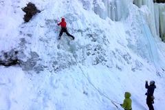 Adventure (price per person): Ice climbing course- Dolomites