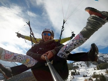 Expérience (prix par personne): Paragliding Tandem
