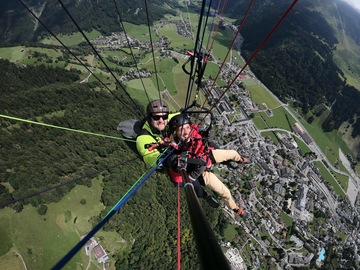 Entdeckung (preis pro person): Paragliding in Engelberg (Panorama)