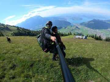 Entdeckung (preis pro person): Paragliding from Stanserhorn (Panorama)