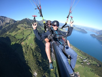 Entdeckung (preis pro person): Paragliding in Emmetten (Panorama)