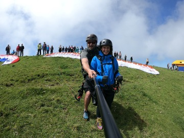 Entdeckung (preis pro person): Paragliding from Fronalpstock (Panorama)
