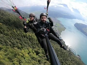 Entdeckung (preis pro person): Paragliding in Brunnen (Panorama)