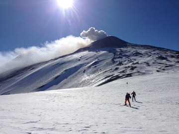 Experience (price per person): Scialpinismo Etna