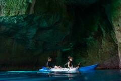 Experience (price per person): Cave tour with kayak!