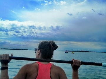 Experience (price per person): Discovery tour by Kayak in the lagoon in Venice