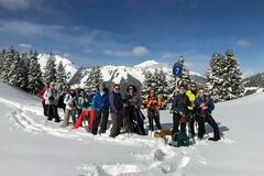 Experience (price per group): Snow Shoe Day Adventure