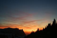 Adventure (price per person): Sunset Snowshoeing