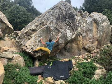 Entdeckung (preis pro gruppe): Arrampicata su roccia e Boulder a San Vito lo Capo