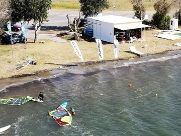 Experience (price per person): WINDSURF BEGINNERS SESSION 1 HOUR -private
