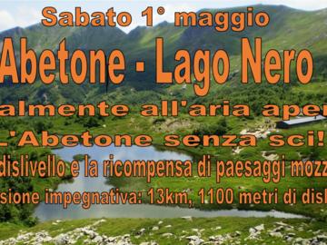 """Experience (price per person): Escursione """"Abetone - Lago Nero"""", 1° Maggio 2021"""